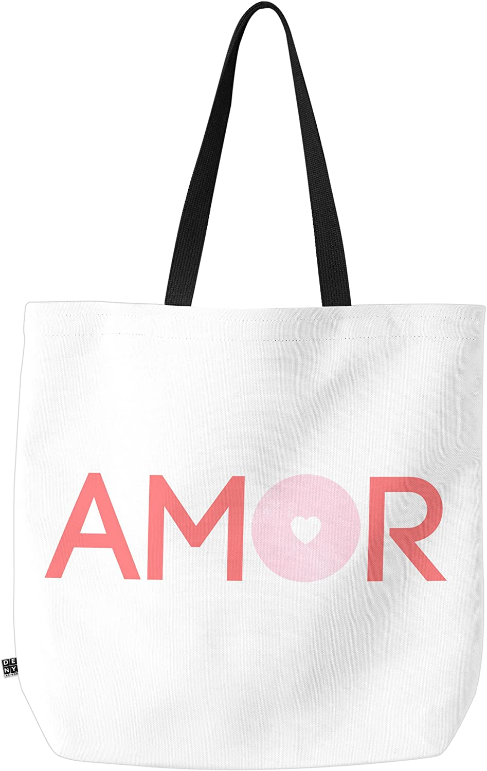 Deny Designs Amor & More Carry All Tote Bag, 18  x 16