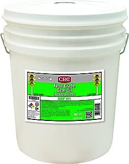 CRC 04555 Food Grade Gear Oil ISO 680 SAE 250, 5 gal, Clear/Bright