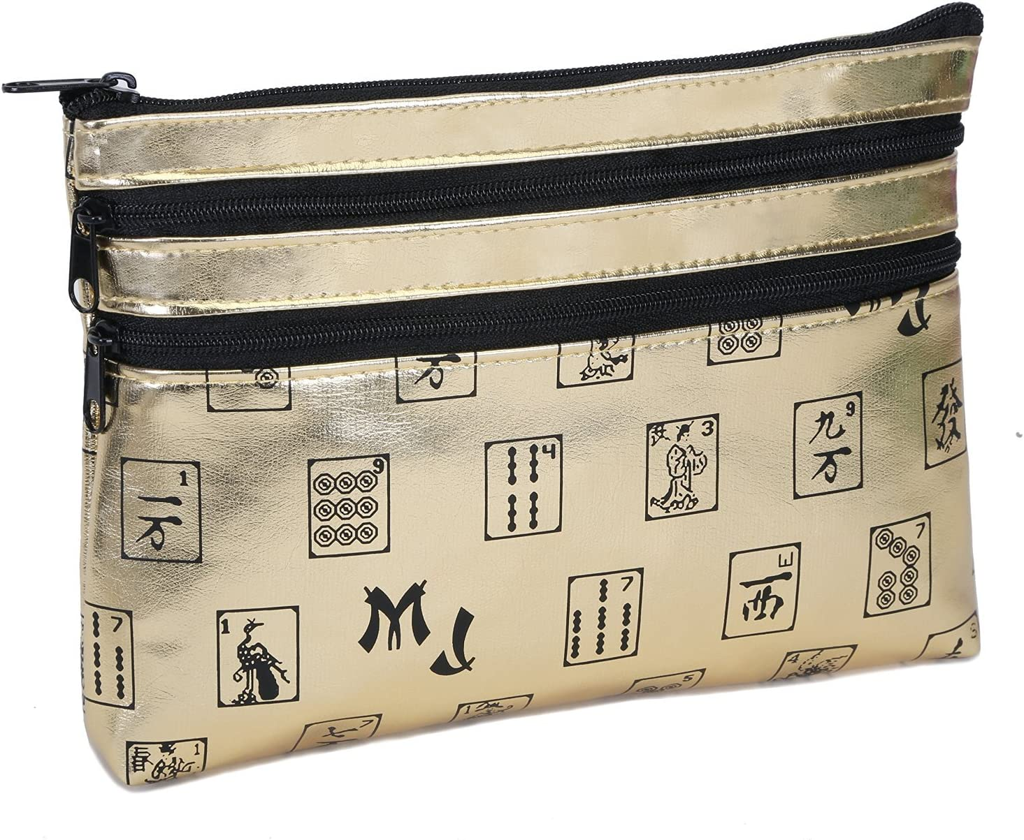 Mah Jongg themed card /& coin purse