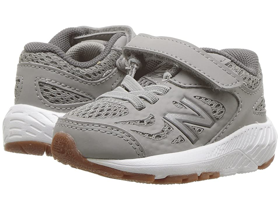 New Balance Kids KV519v1I (Infant/Toddler) (Team Away Grey/Castlerock) Boys Shoes