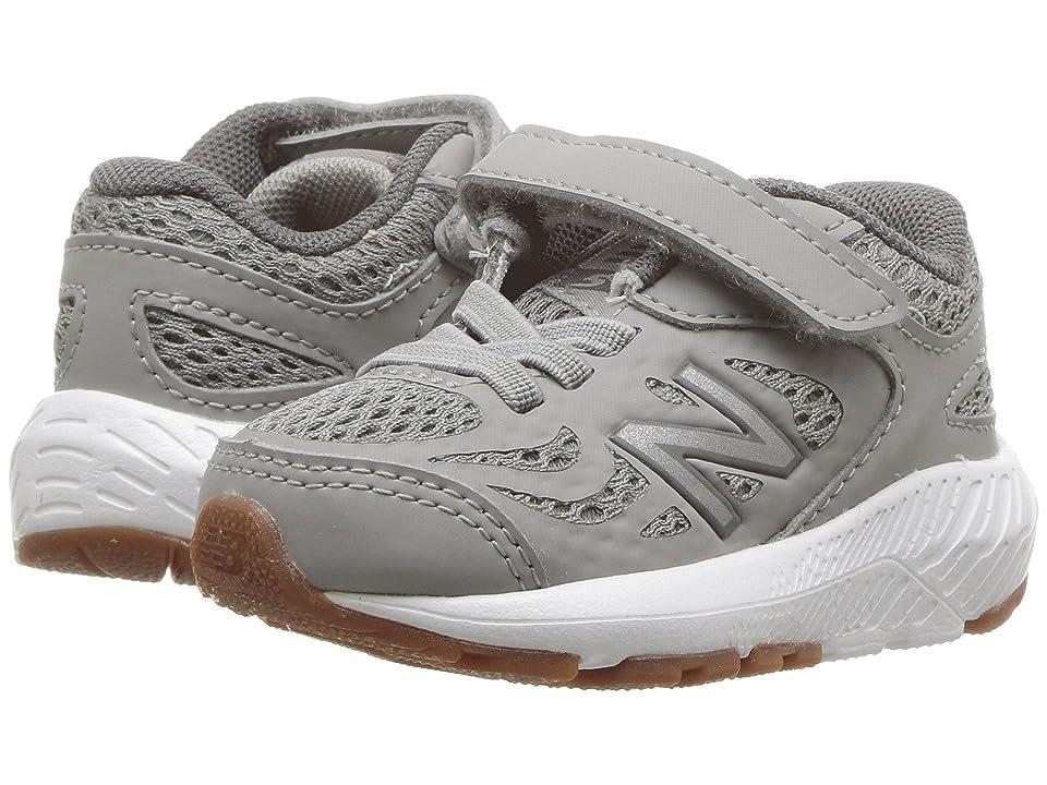 New Balance Kids KV519v1I (Infant/Toddler) (Team Away Grey/Castlerock) Boys Shoes