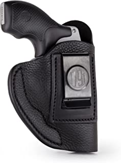 """1791 GUNLEATHER J Frame Premium Leather IWB CCW Holster - Soft & Comfortable Right/Left Handed Gun Holster - Fits All J Frame Revolvers Models S&W, Ruger LCR and SP101. Max Barrel = 2.5"""""""