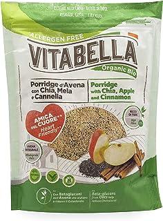 Vitabella Organic Porridge With Chia And Apple, 240 gm
