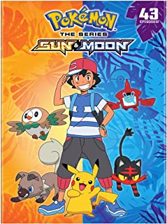 Pokemon The Series: Sun & Moon Complete Collection (DVD)