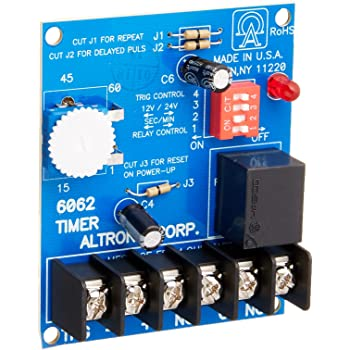 [TBQL_4184]  Altronix Digital Timer 6062 - Electrical Timers - Amazon.com | Altronix Timer Relay Wiring Diagram |  | Amazon.com