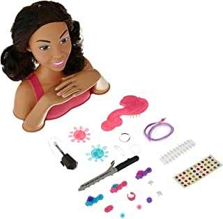 Barbie Styling Head (Black Hair) - Brown Mailer