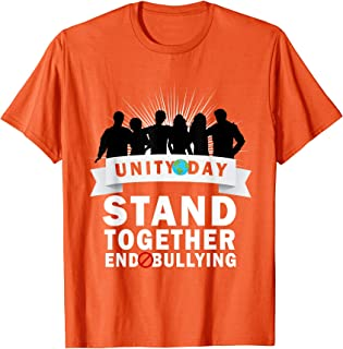 Unity Day, Stand Together End Bullying T-Shirt