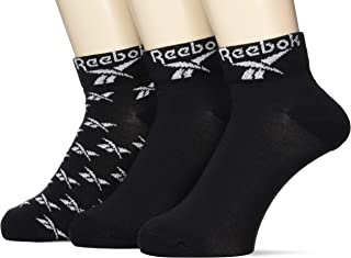 Reebok, Cl Fo Ankle Sock 3p Calcetines Unisex adulto