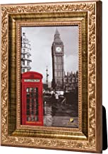 Porta Retrato (10x15) Moldura Trabalhada Dourada