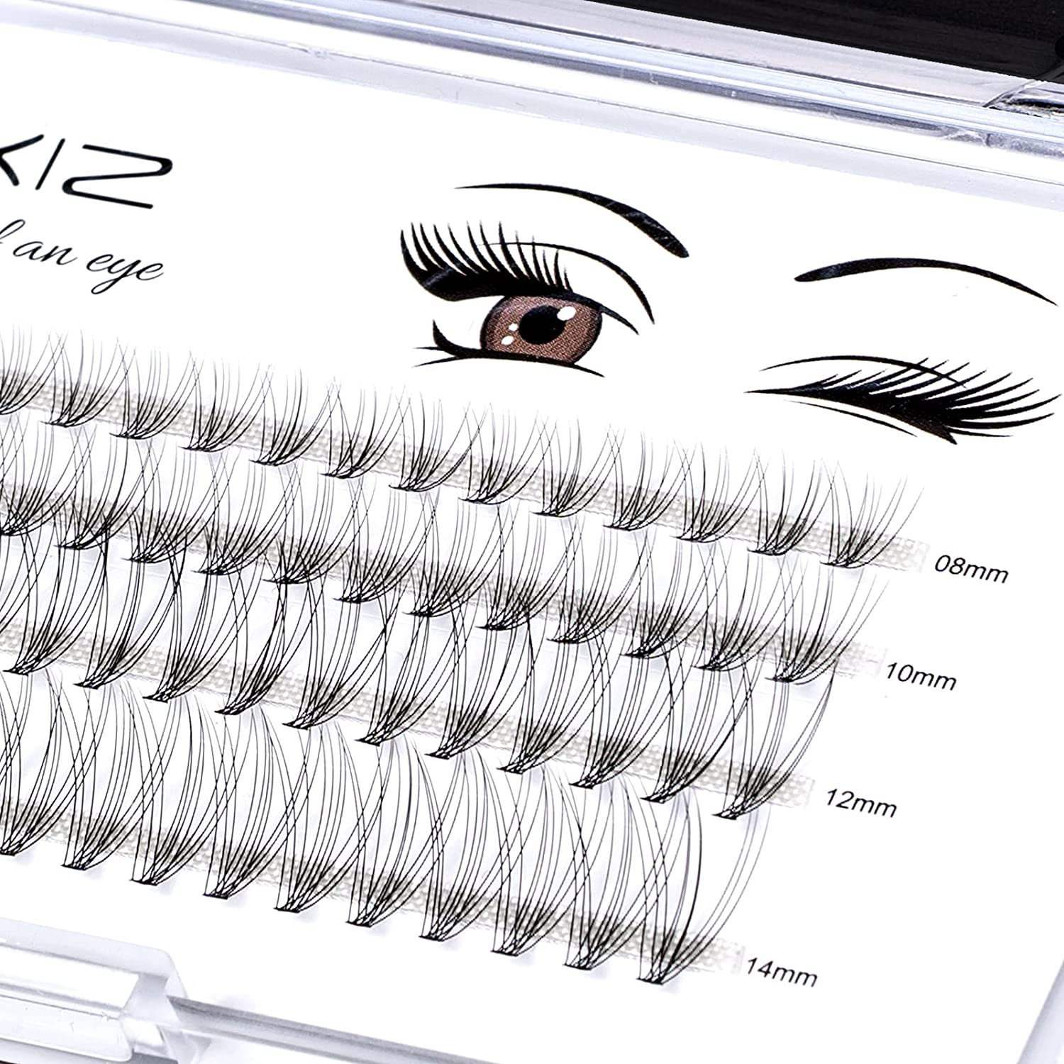 Home PRO DIY Regular dealer Individual Lashes Seattle Mall a LANKIZ Cluster for Pack