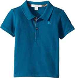 Palmer Short Sleeve Pique Polo Shirt (Infant/Toddler)