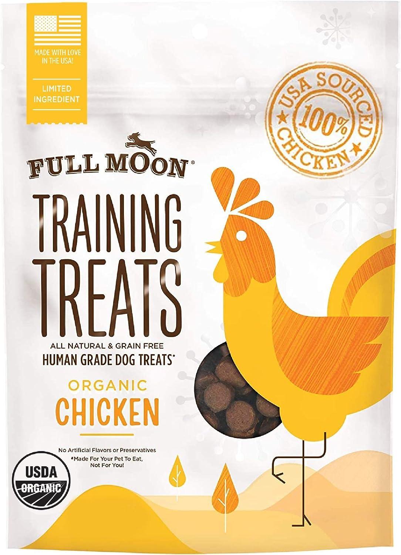 Full Moon Popular brand in the world Mesa Mall Organic Human Grade Treats Dogs for Training