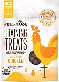 product image for Full Moon Organic Human Grade Training Treats for Dogs