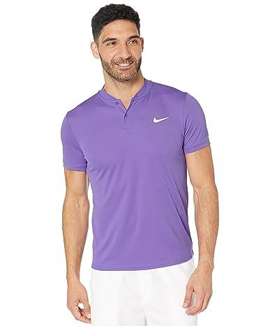 Nike NikeCourt Dry Polo Blade (Psychic Purple/White) Men