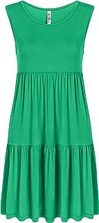 Casual Tiered T Shirt Dresses for Women Summer Sundress - USA