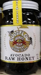 Goodflow Avocado Raw Honey 12 oz (Pack of 3)