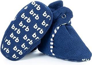 Botines de Bebé - Suave Algodon Organico, Mejor Que Calcetines! - Zapato Bebés