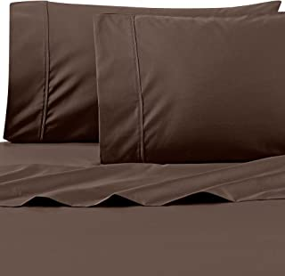 Wamsutta 625-Thread Count PimaCott King Sheet Set in Chocolate