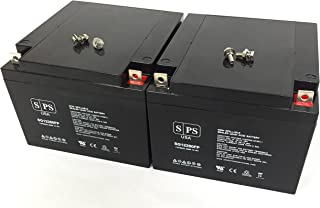 12V 26Ah Replacement Battery for Genesis NPC24-12, NPC 24-12 (2 Pack) (SPS Brand)