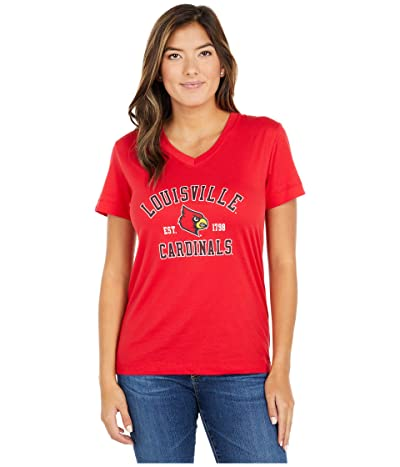 Champion College Louisville Cardinals University 2.0 V-Neck T-Shirt