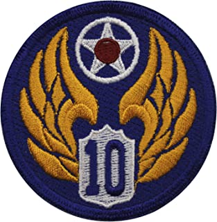 10th Army Air Force Patch Full Color