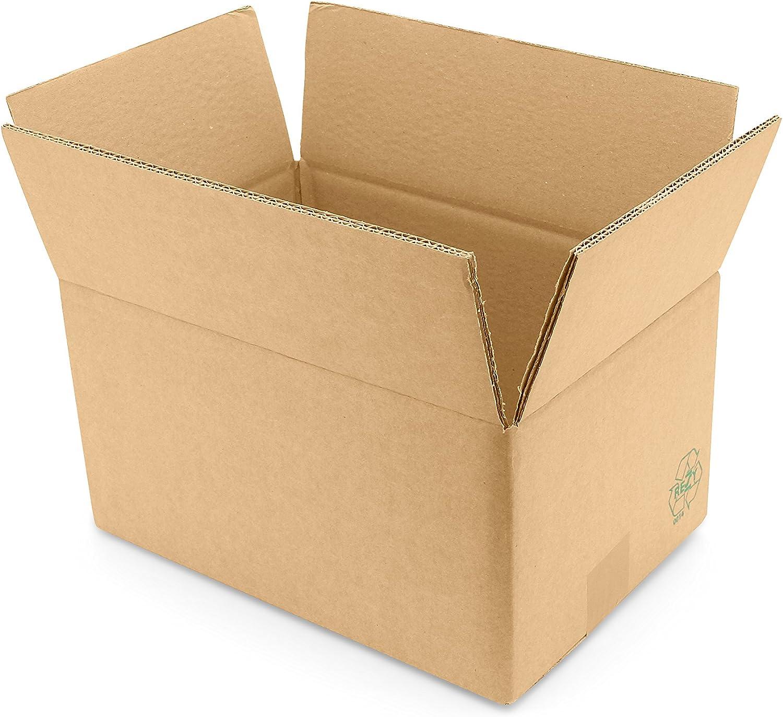 Wellpappe-Faltkarton Fefco 0201 325 x 220 x 160 160 160 mm (Innenmaß)  Verpackungseinheit  10 Stück  B07NQNT9T9      Quality First  dfe81b