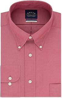 Eagle Men's Tall Size Non Iron Stretch Collar Solid Buttondown Collar Dress Shirt