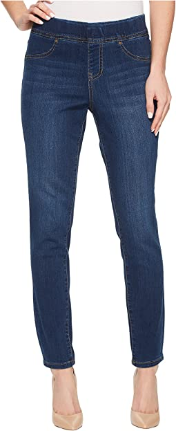 Jag Jeans Marla Pull-On Denim Leggings in Mid Indigo
