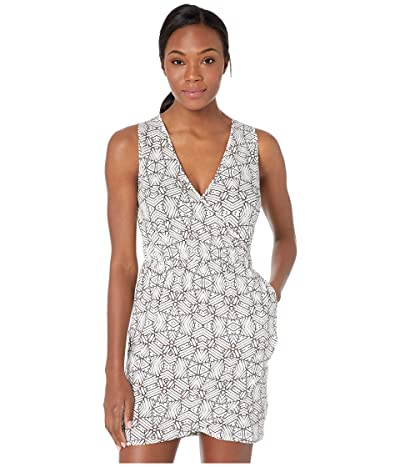 Carve Designs Kendall Dress (White Tile) Women