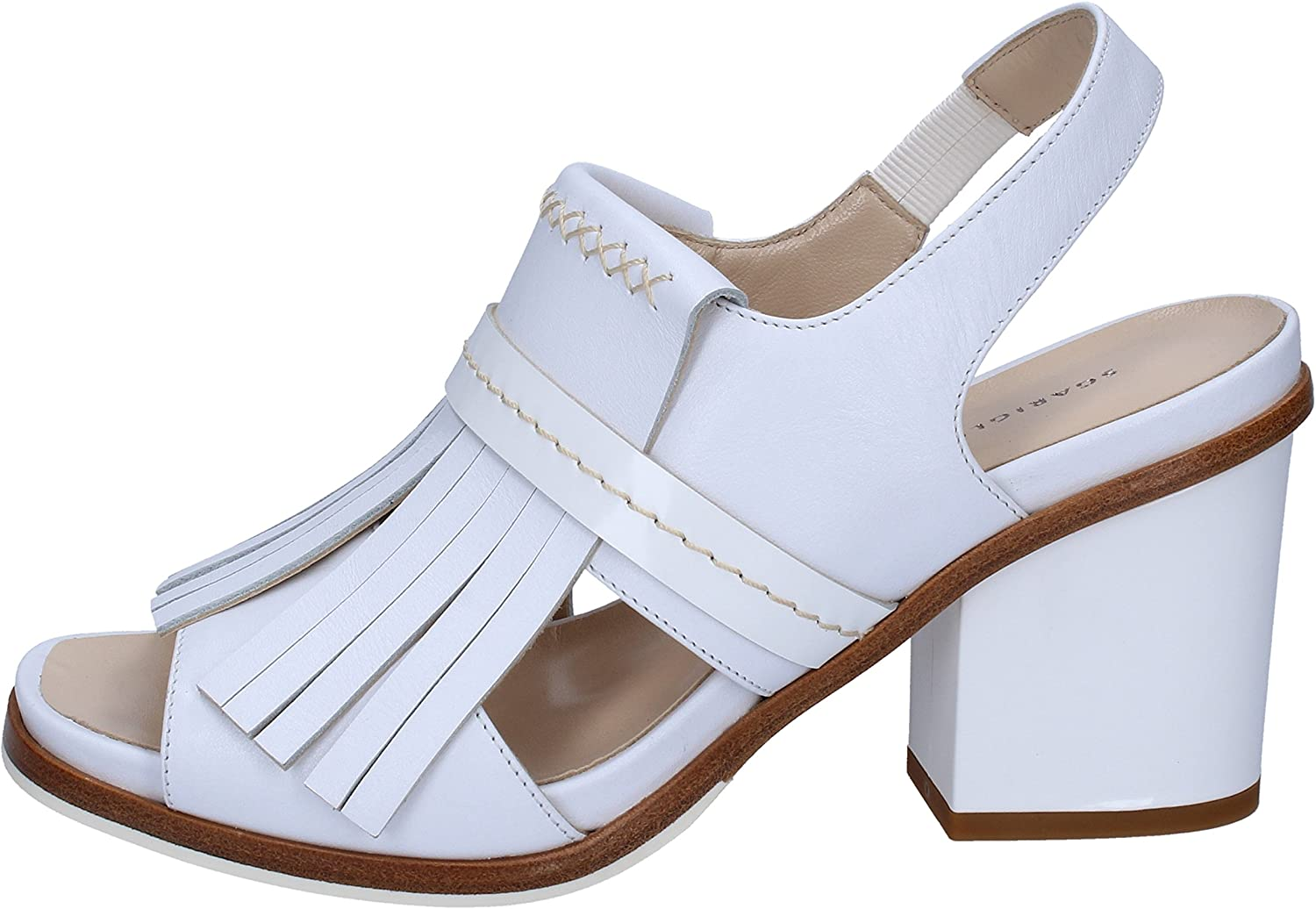 GUIDO SGARIGLIA Sandals Womens Leather White