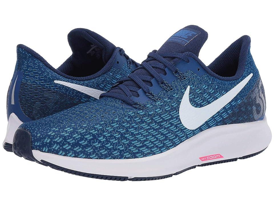 Nike Air Zoom Pegasus 35 (Indigo Force/White/Photo Blue/Blue Void) Men