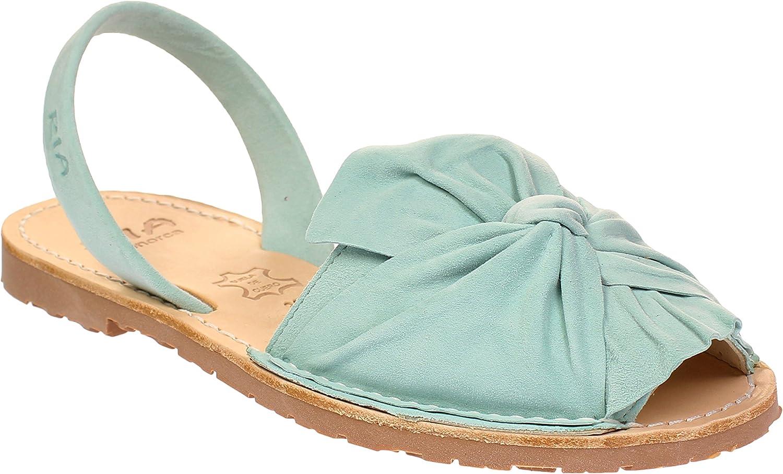 Ria menorca 27167-S2 ANTE Mint - Damen Schuhe Slingback-Sandaletten - Caramelo