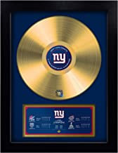 TSV Authentic NFL Unisex-Adult NFL Super Bowl Champion Vinyl Gold Record