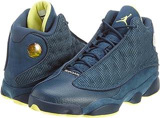huge discount 736e4 23ddd NIKE Mens Air Jordan 13 Retro Suede Basketball Shoes
