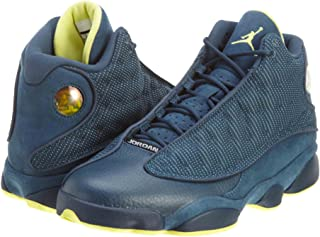 NIKE Mens Air Jordan 13 Retro Suede Basketball Shoes