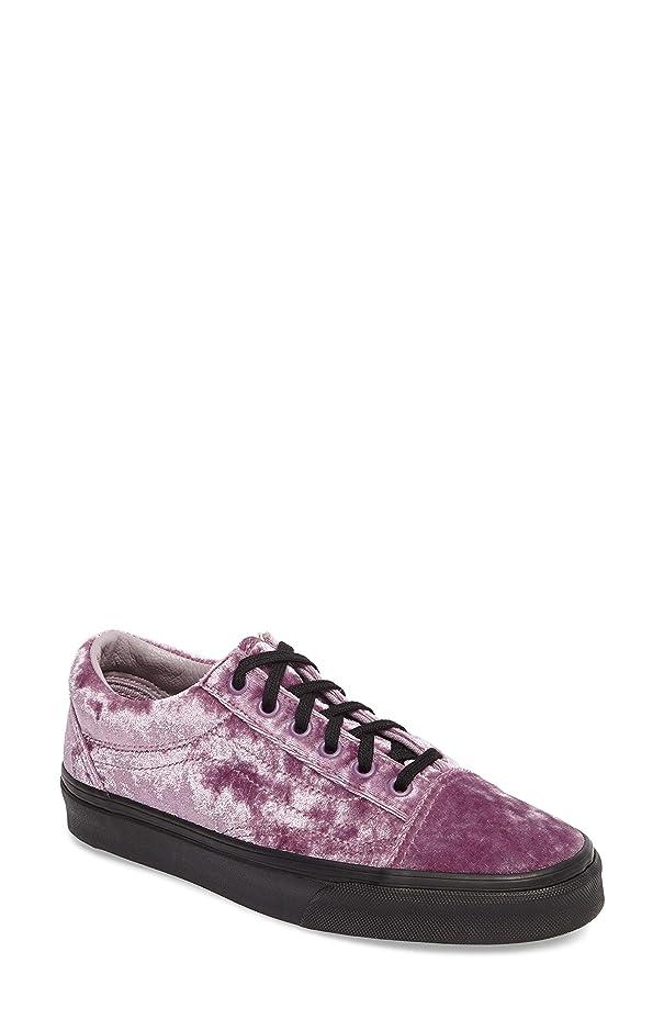 受け入れ将来の出くわすバンズ シューズ スニーカー Vans Old Skool Sneaker (Women) Sea Fog/ B [並行輸入品]