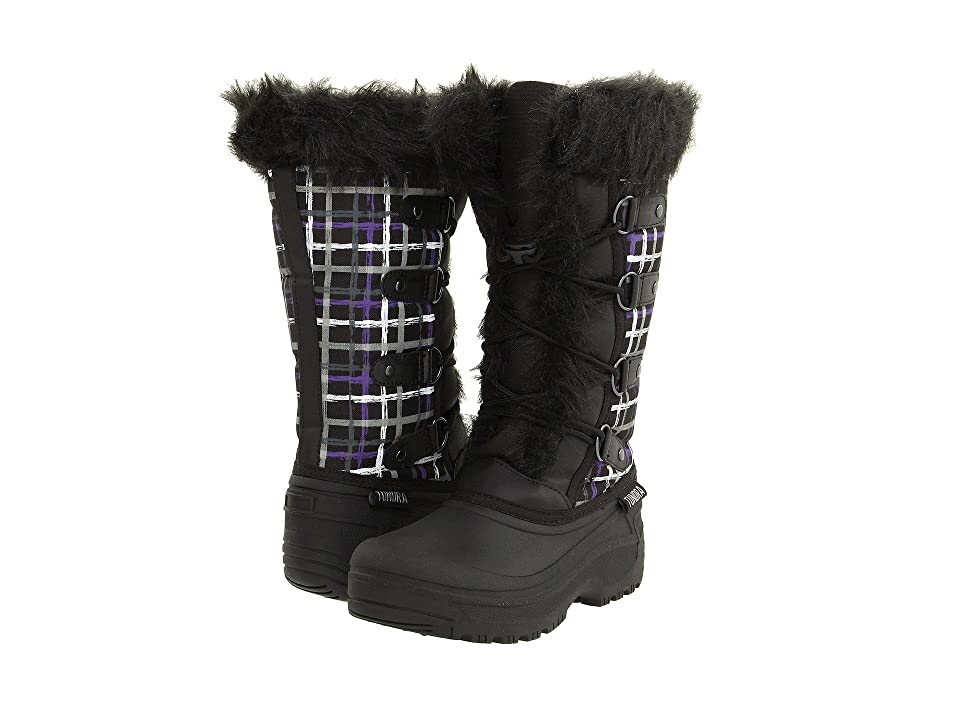 Tundra Boots Diana (Black/Purple) Women