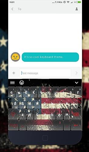 American Emoji Keyboard Theme