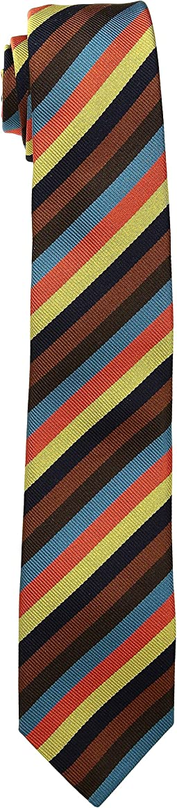 Paul Smith - Thin Artist Stripe 6cm Tie