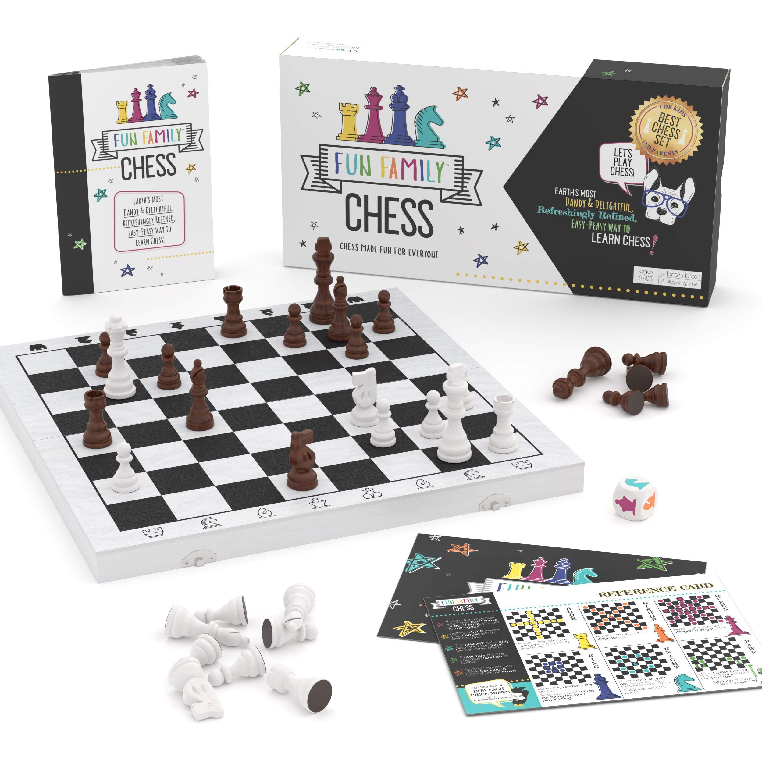 Fun Family Chess Kids Adults