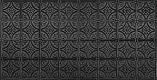 Global Specialty Products Pattern No.209 Tin Style Panel, 2 by 4-Feet, Black