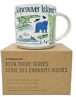 Starbucks Been There Series - Vancouver Island, BC, British Columbia, Canada Mug, 14 Fl Oz