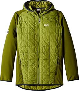 Jack Wolfskin Kids Grassland Hybrid Jacket (Infant/Toddler/Little Kids/Big Kids)