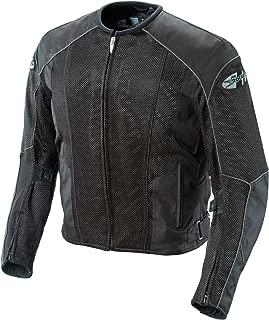 Joe Rocket Phoenix 5.0 Men's Mesh Motorcycle Riding Jacket (Black/Black, Medium)