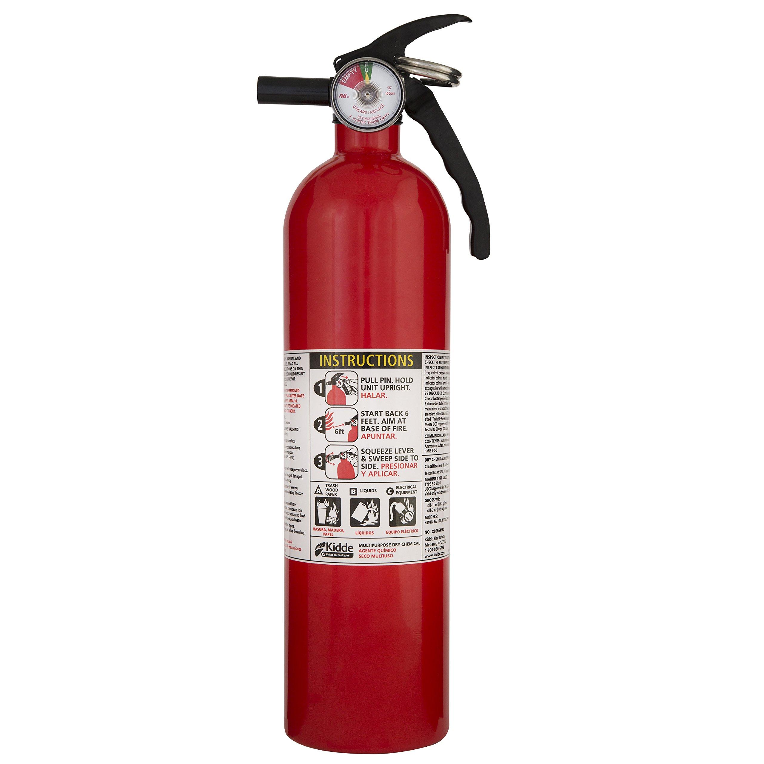 Kidde Purpose Extinguisher 1A10BC 4 pack