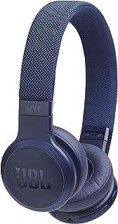 JBL LIVE 400BT draadloze on-ear hoofdtelefoon in blauw - Bluetooth oortelefoon met tot 24 uur looptijd & Alexa-integratie...