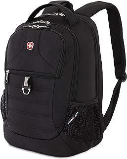 SWISSGEAR 5888 Large, Padded, ScanSmart Laptop Backpack | TSA-Friendly Carry-on | Travel, Work, School | Men's and Women's - Black
