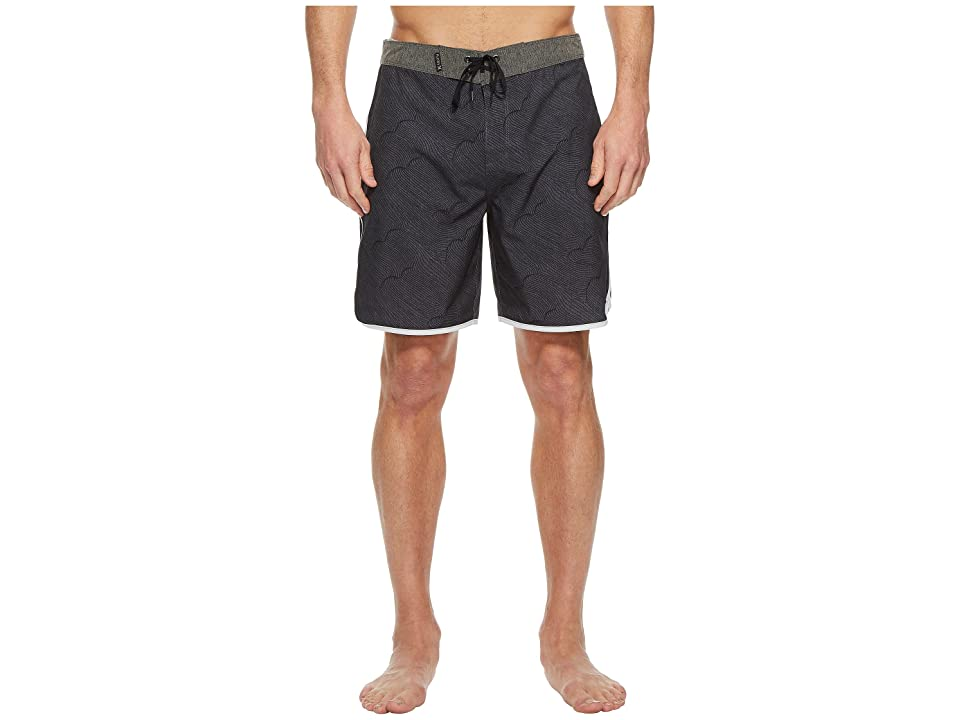 Hurley Phantom Thalia Street 18 Boardshorts (Anthracite) Men