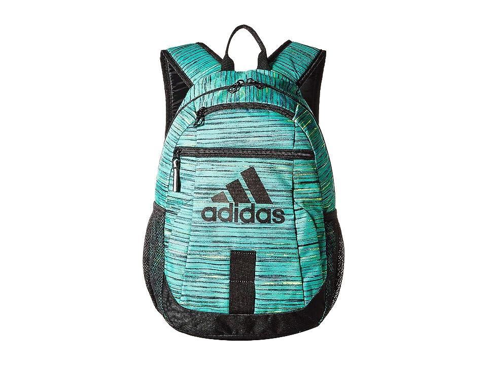 adidas Creator Backpack (Little Kids/Big Kids) (Hi-Res Green Visionary/Black) Backpack Bags