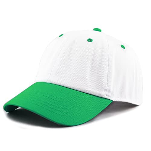 593b8fd5 Green and White Hat: Amazon.com